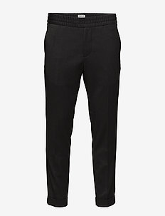 M. Terry Gabardine Pants - ANTHRACITE