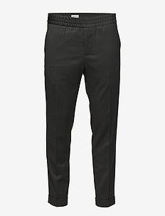 M. Terry Gabardine Pants - formele broeken - dark spruc