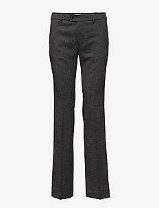 Lily Slacks - spodnie proste - grey mel.