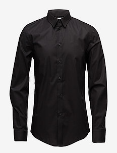 M. Paul Stretch Shirt - business shirts - black