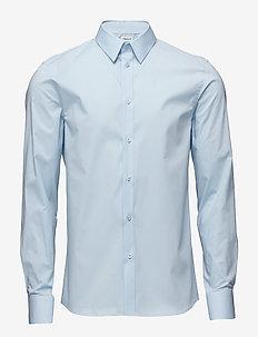 M. Paul Stretch Shirt - chemises d'affaires - light blue