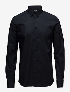 M. Paul Stretch Shirt - business shirts - navy