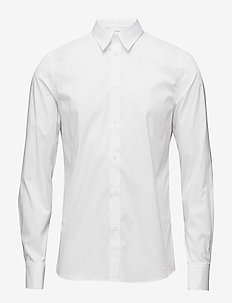 M. Paul Stretch Shirt - formele overhemden - white