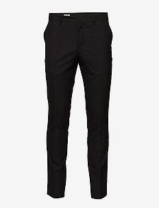 M. Liam Wool Trouser - BLACK