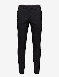 M. Liam Wool Trouser - suit trousers - dk. navy