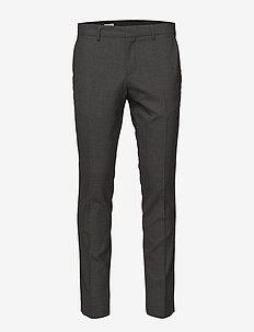 M. Liam Wool Trouser - GREY MEL.