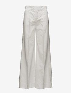 Keaton Canvas Pants - wide leg trousers - air