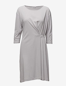 Blouson Jersey Dress - robes midi - moon