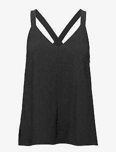 Ami Slip Top - blouses zonder mouwen - black