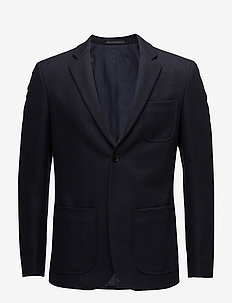 M. Rick Wool Jacket - single breasted blazers - navy