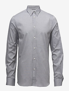 M. Pierre Light Oxford Shirt - business shirts - navy mel.