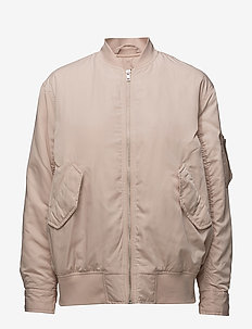 Bentley Bomber Jacket - bomber jacks - blush