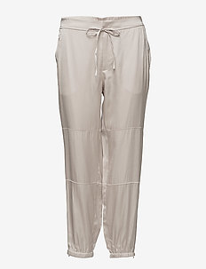 Lou Satin Jogger - spodnie dresowe - bone