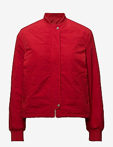 Ryder Bomber Jacket - bomber jacks - rouge