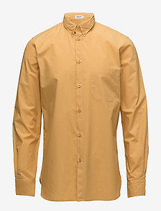 M. Peter Washed Poplin Shirt - business shirts - honey