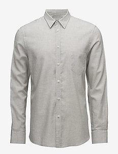 M. Pierre Houndstooth Shirt - casual - grey/salt