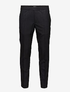 M. Terry Cool Wool Trouser - formele broeken - black