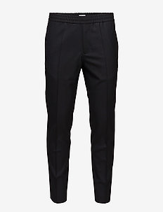 M. Terry Cool Wool Trouser - suit trousers - dk. navy