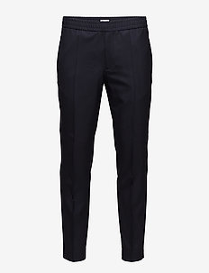 M. Terry Cool Wool Trouser - pantalons habillés - hope