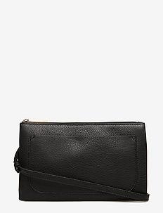 Carol Leather Mini Bag - skuldertasker - black