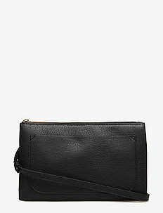 Carol Leather Mini Bag - schoudertassen - black