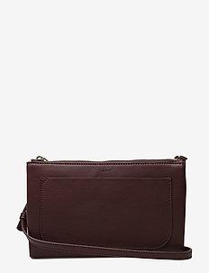 Carol Leather Mini Bag - BRICK