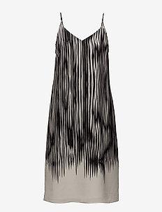 Strappy Print Dress - korte kjoler - black abst