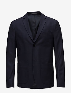 M. Daniel Knit Jacket - single breasted blazers - navy