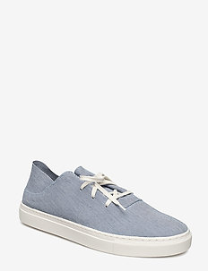 M. Jonathan Striped Sneaker - matalavartiset tennarit - white/navy