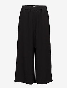 Pull-on Pants - uitlopende broeken - black