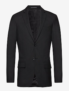 M. Rick Wool Jacket - single breasted blazers - black