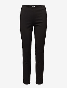 Mila Slim Pants - BLACK