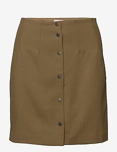 Twill Skirt - KELP