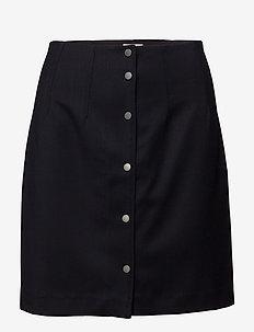 Twill Skirt - NAVY