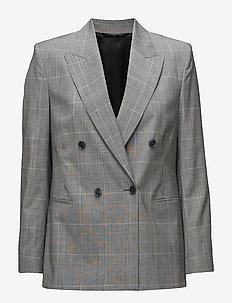 Katie Check Suit Jacket - CHECKS
