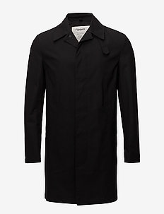 M. Waxed Carcoat - cienkie płaszcze - black