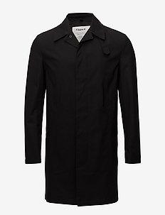 M. Waxed Carcoat - lette frakker - black