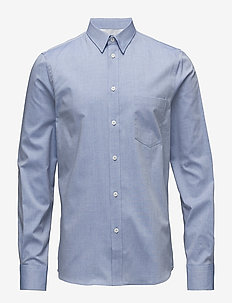 M. Pierre Light Oxford Shirt - business shirts - aquatic me
