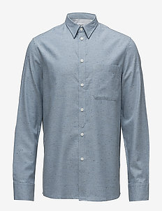 M. Heath Tweed Shirt - basic overhemden - aquatic me
