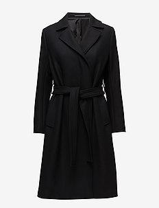 Victoire Coat - wełniane płaszcze - black