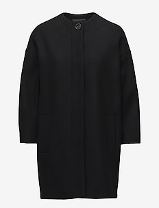 Kim Coat - manteaux en laine - black