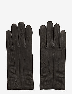 M. Classic Leather Gloves - BLACK