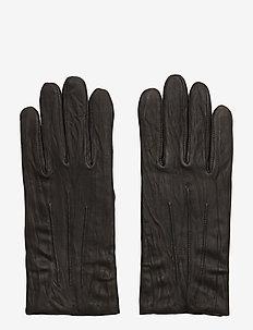 M. Classic Leather Gloves - handschoenen - black