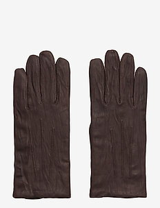 M. Classic Leather Gloves - handschoenen - cassis