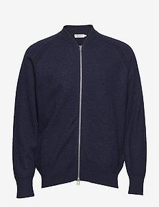 M. Boiled Wool Zip Jacket - HOPE