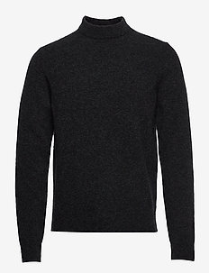 M. Yak R-Neck Sweater - CHARCOAL M