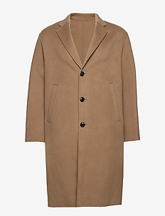 M. Luke Doubleface Coat - manteaux de laine - camel