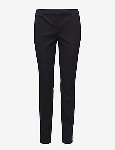Sophia Cotton Stretch Trousers - NAVY