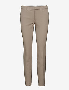 Sophia Cotton Stretch Trousers - TAUPE