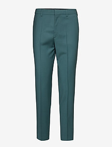 Emma Cropped Cool wool Trouser - RIVER